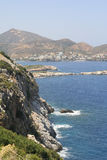 Island Crete coast Royalty Free Stock Photo