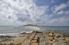 The Island of currents in Sicily Royalty Free Stock Photo