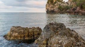 Island on daylight summer season stock video