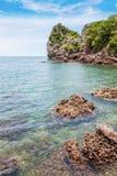 Island on daylight summer season Stock Photography