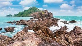 Island on daylight Royalty Free Stock Photo