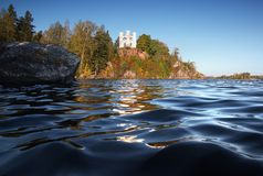 Island of the Dead, Baltic sea, park Mon Repos Royalty Free Stock Photography