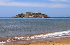 Island (Delikada Island), Turkey Royalty Free Stock Photos