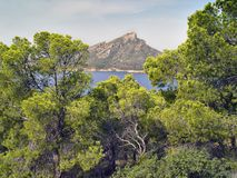 Island Dragonera, Mallorca, Spain Royalty Free Stock Images