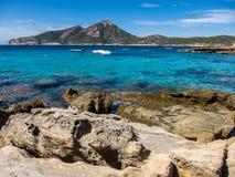 Island Dragonera Spain Stock Photo