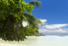 The island of dreams. Rest and relaxation. Royalty Free Stock Image