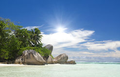 The island of dreams. Rest and relaxation. Stock Image