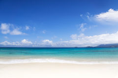 The island of dreams. Rest and relaxation. Royalty Free Stock Images