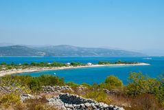 Croatian island Drvenik Mali Royalty Free Stock Images