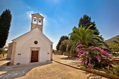 Island of Dugi Otok mediterranean chapel Stock Photos