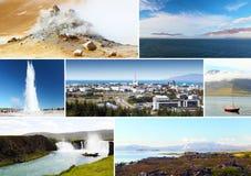 Island, Eindrücke stockbilder