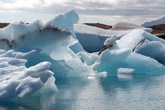 Island-Eisberg Lizenzfreie Stockfotos