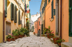 Island of Elba, Sant'Ilario Royalty Free Stock Images