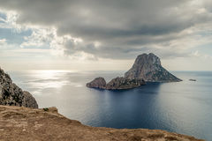 The island of Es Vedra stock photo
