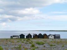 The island Faroe in Sweden Royalty Free Stock Image