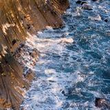Island-Felsen stockfotografie