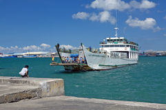 Island ferry boat Stock Photography