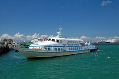 Island ferry boat Royalty Free Stock Photo