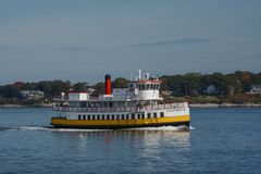 Island Ferry Royalty Free Stock Images
