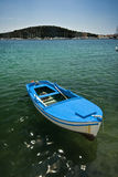 Island and the fishing boat Royalty Free Stock Photo