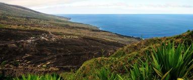 The Island of Fogo Coastline Royalty Free Stock Photos
