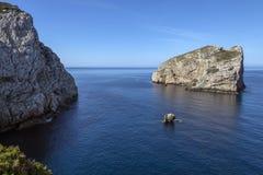 Island of Foradada - Sardinia - Italy Royalty Free Stock Images