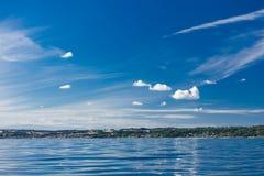 Island fort Christiansoe Bornholm Baltic Sea Denmark Scandinavia Europe Stock Image