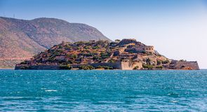 Island of Spinalonga, Crete, Greece Royalty Free Stock Photo