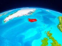 Island från omlopp Royaltyfri Foto