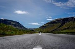 Island frihet på vägen Royaltyfri Bild
