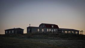 Island gästhus fotografering för bildbyråer