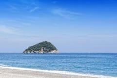 Island of Gallinara Stock Images