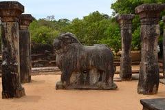 Island Garden ruins, Polonnaruwa Stock Images