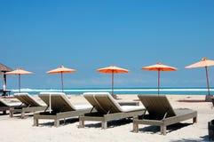 Island of Gili Trawangan. A beach image on the island of Gili Trawangan, located in Bali,  Indonesia Stock Photos