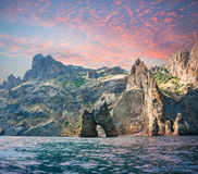 Island Golden Gate in the  Crimea Royalty Free Stock Photos