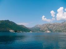 The island of Gospa od Skrpjela, Kotor Bay, Montenegro. Royalty Free Stock Photo