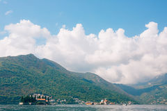 The island of Gospa od Skrpjela, Kotor Bay, Montenegro. Royalty Free Stock Image