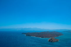 Island. Greece island in the sea Royalty Free Stock Photo