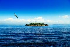 Island. Green Island in Istanbul in Turkey Stock Photography