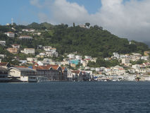The Island of Grenada in the Caribbean Stock Photo