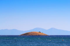 Island in Gumuldur Royalty Free Stock Photos