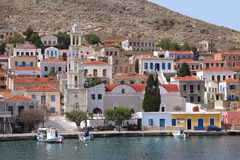 On the island of Halki Stock Photos