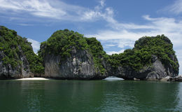 Island in Halong Bay  Stock Photography