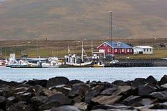 Island hamn Royaltyfri Bild
