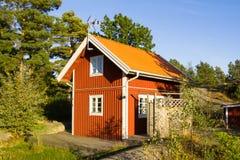 The island Harstena in Sweden Stock Image