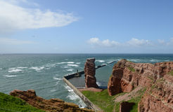 Island of Helgoland Stock Image