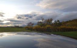 Island-Herbst Lizenzfreie Stockfotos