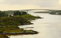 Island of Hitra, Norway royalty free stock photo