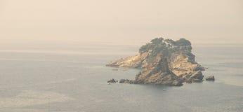 Island Holy Week in Montenegro Royalty Free Stock Image