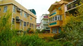The island of Hongkong family. Filmed in Hongkong Lamma Island Stock Photography